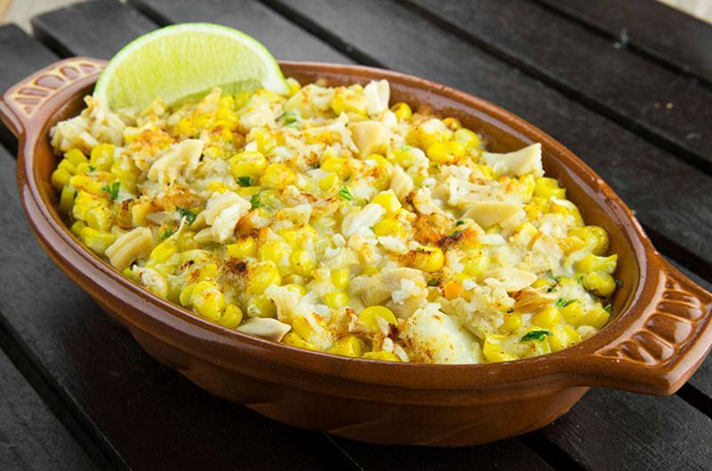 creamed corn elotes