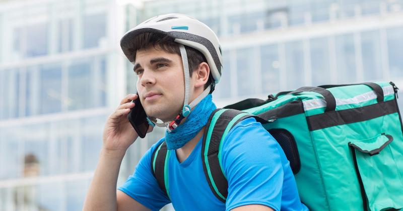 phone bike delivery