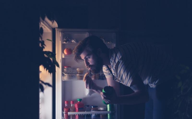 man refrigerator