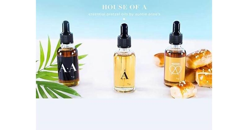 house of a essential pretzel oils