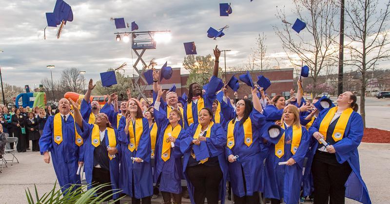 Walmart academy graduation