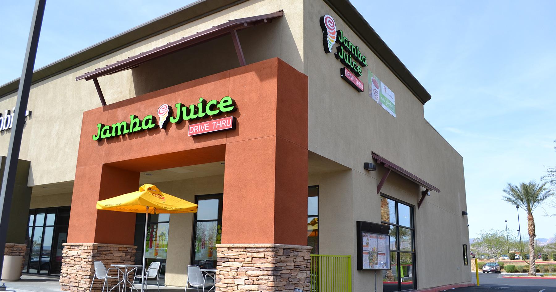 Drive Thrus Are Cornerstone Of Jamba Juice S Growth Plans