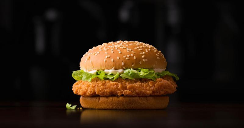 mcspicy chicken sandwich