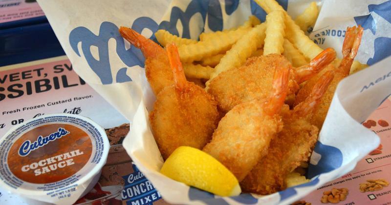 culvers shrimp basket