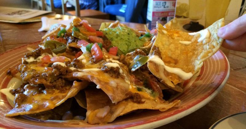 on the border nachos