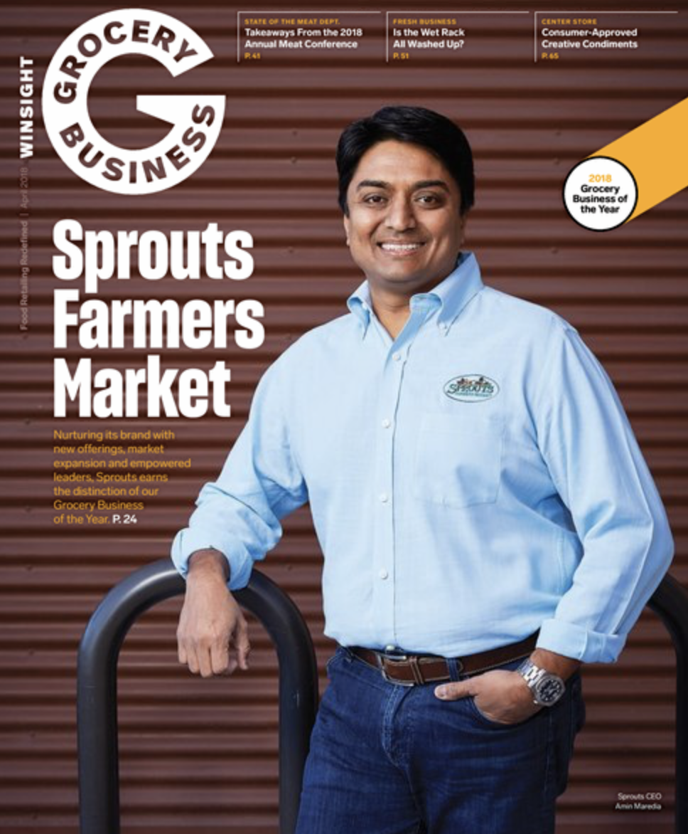 Winsight Grocery Business Magazine April 2018 Issue
