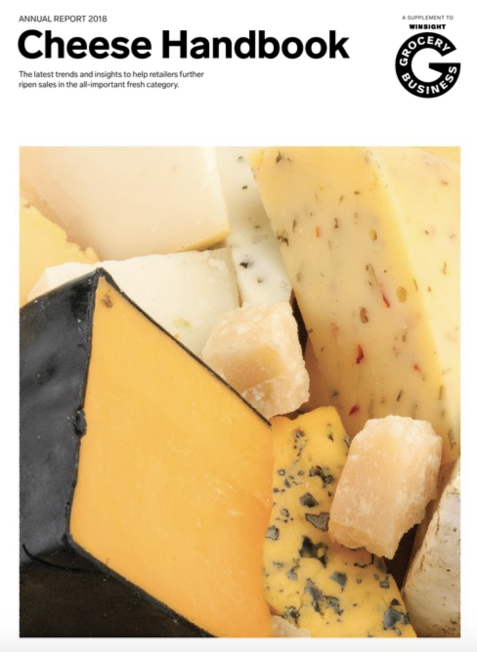 Winsight Grocery Business Magazine Cheese Handbook 2018 Issue
