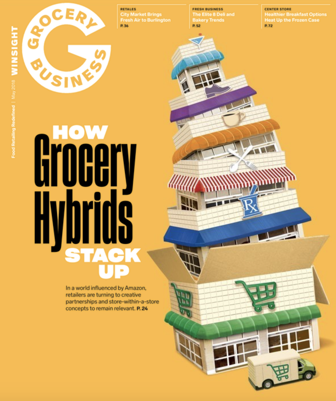 Winsight Grocery Business Magazine May 2018 Issue