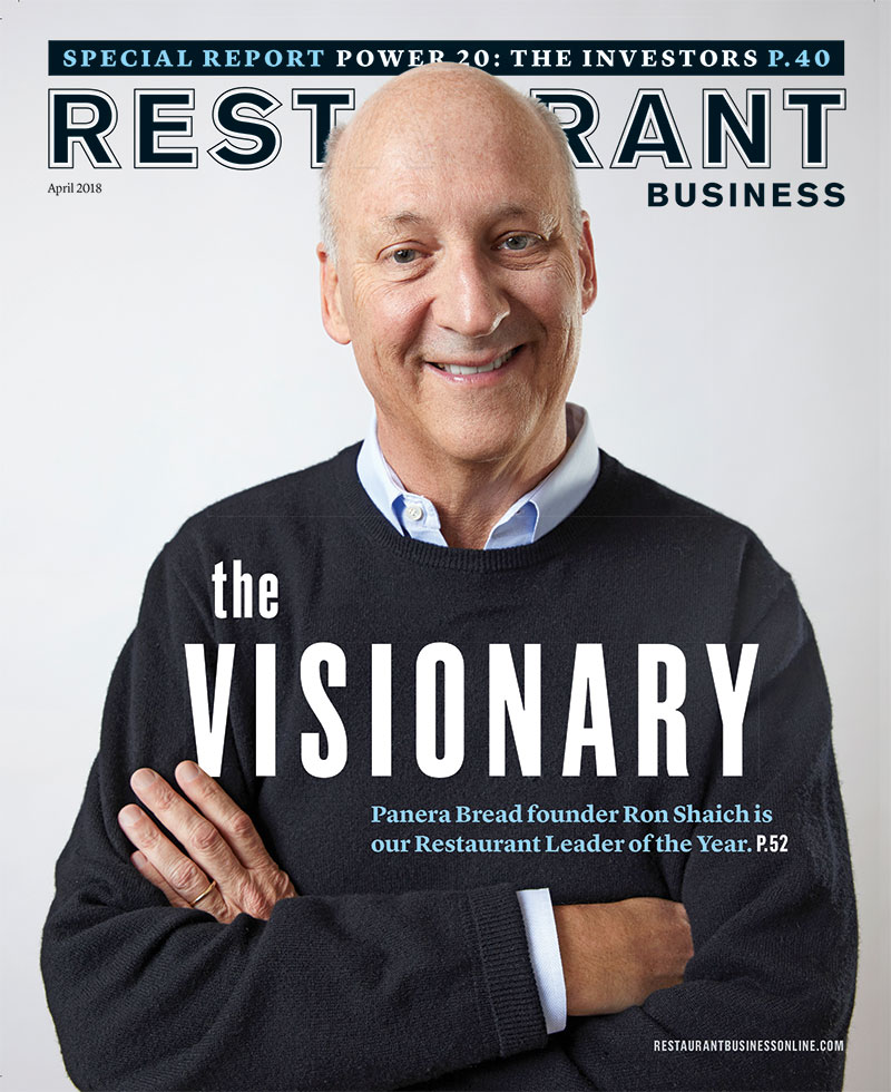 Restaurant Business Magazine April 2018 Issue