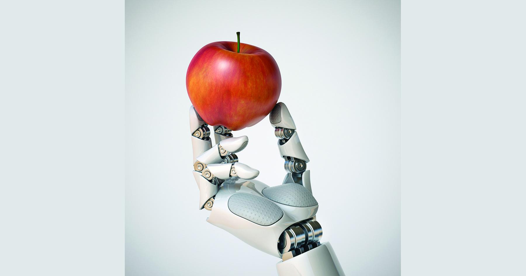 robot apple