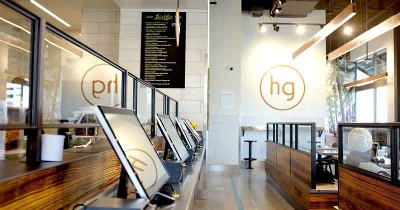 honeygrow interior