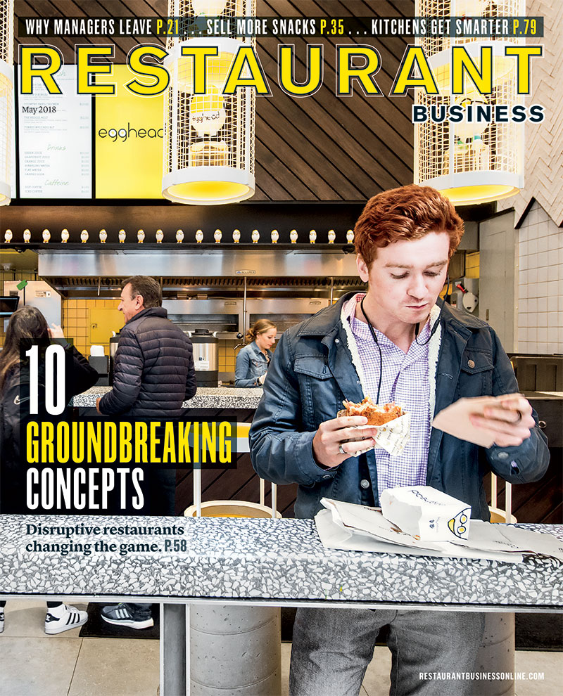 Restaurant Business Magazine May 2018 Issue