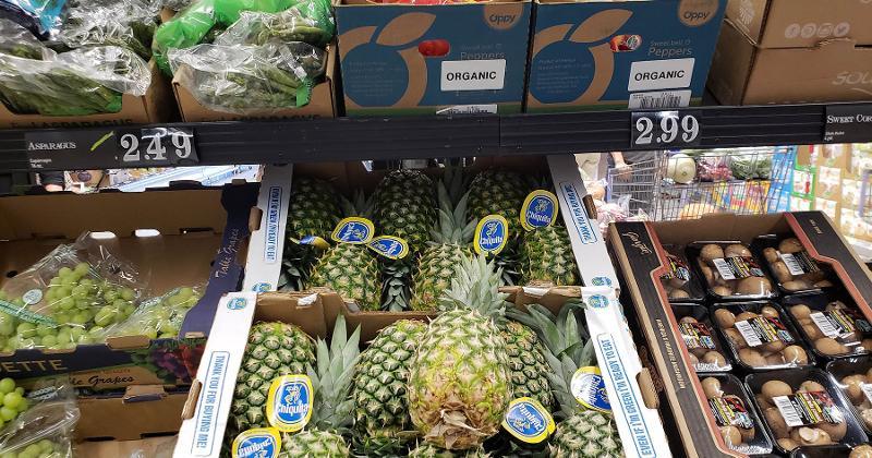 Aldi pineapples