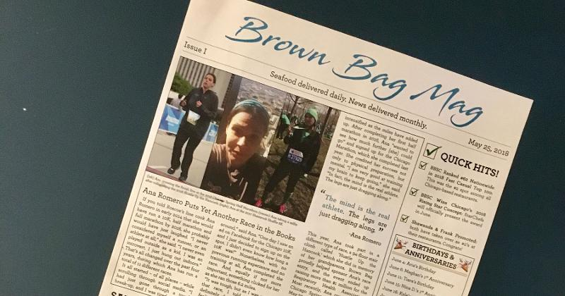 brown bag magazine