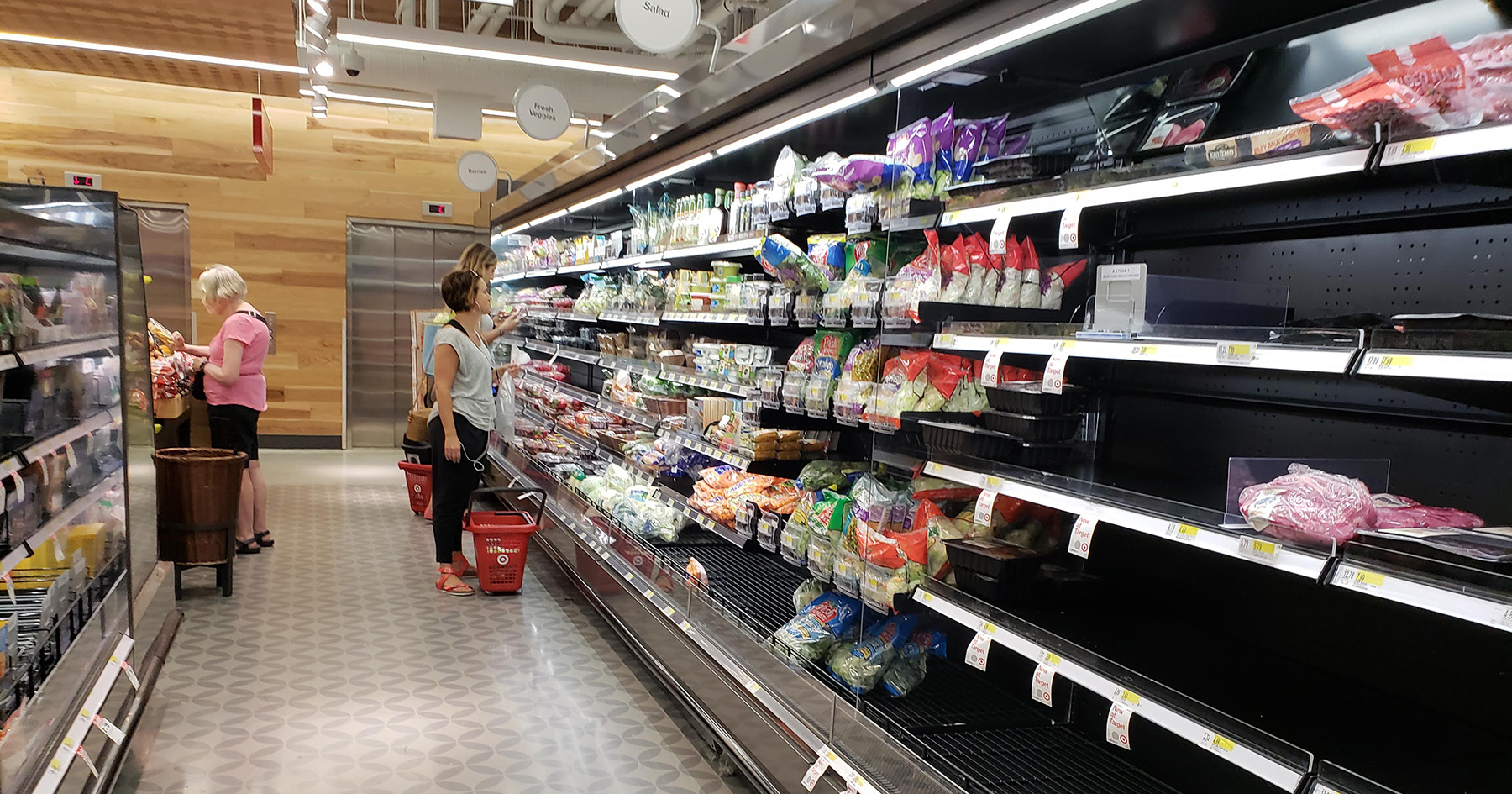 target frozen section