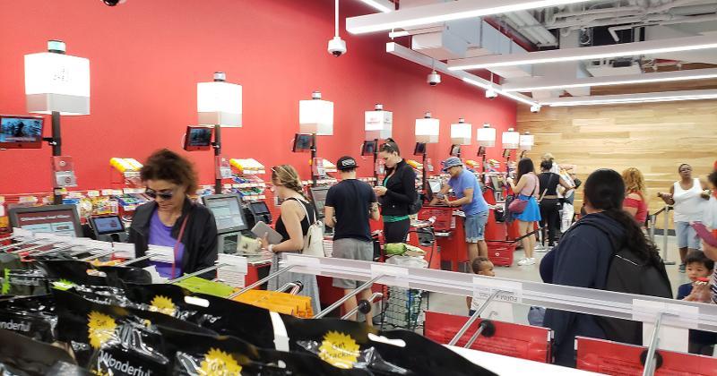Inside Target S Urban East Village Store