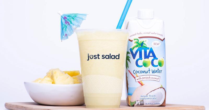 just salad la vita coco colada smoothie