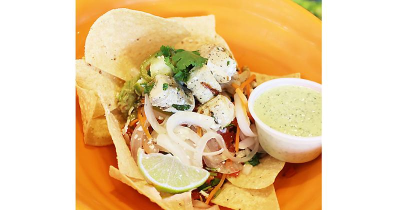 Lime Fresh Mexican Grill cuenco escabeche