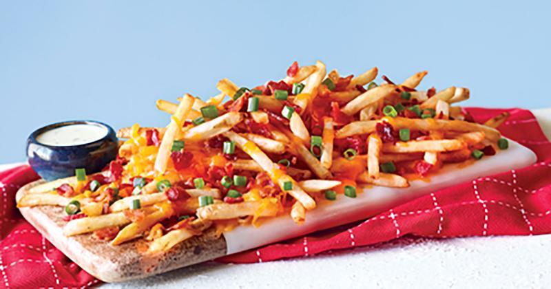 mimis loaded cheddar fries