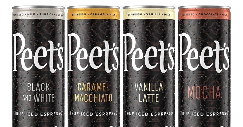 peets iced espresso