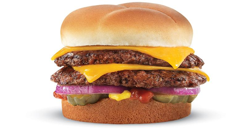 culvers cheddar double burger