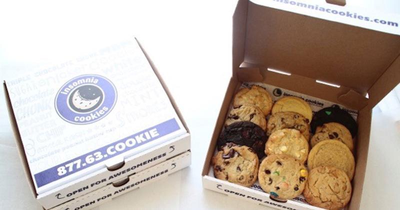 dozen insomnia cookies