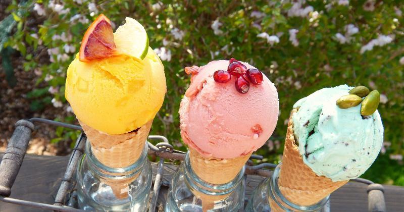 ice cream cone variety