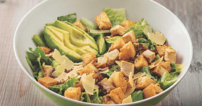 farmer boys chicken caesar salad