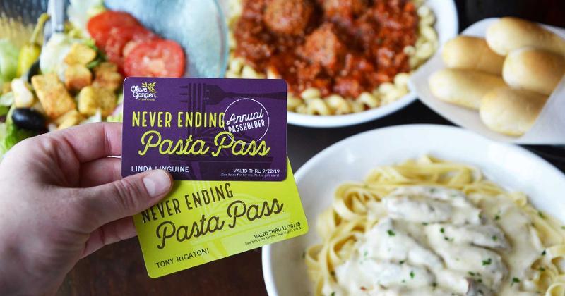olive garden pasta passes