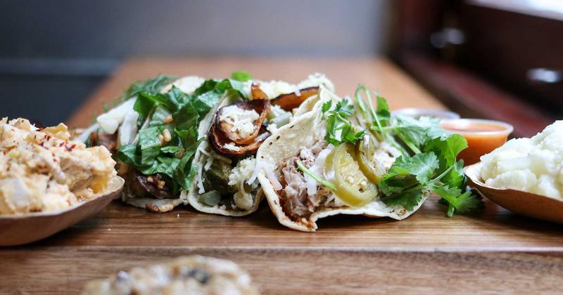 assorted untamed tacos