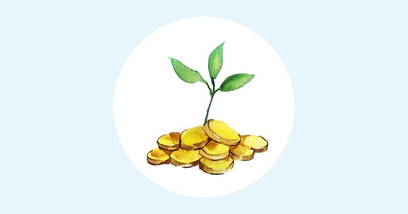 seed money illustration