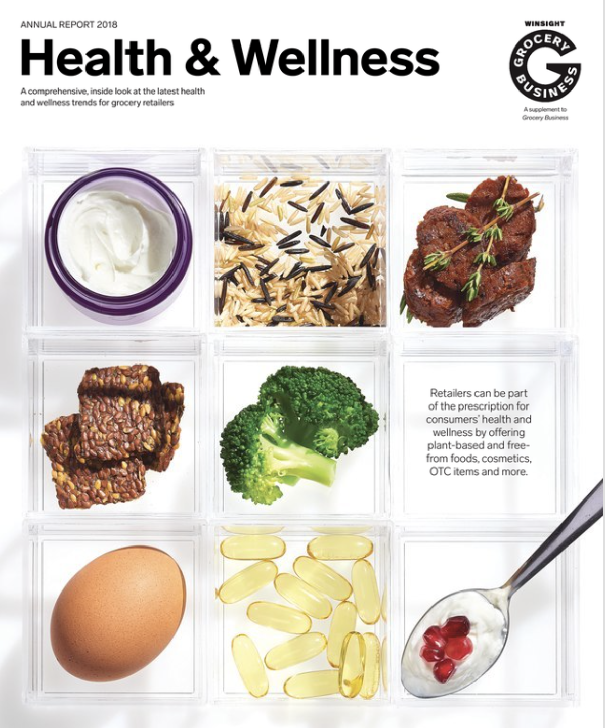 Winsight Grocery Business Magazine Heath & Wellness Handbook 2018 Issue