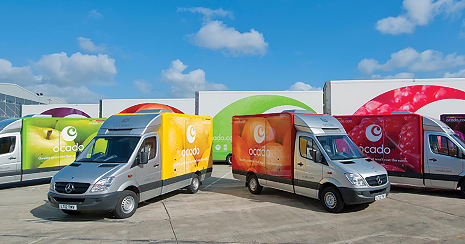 ocado trucks