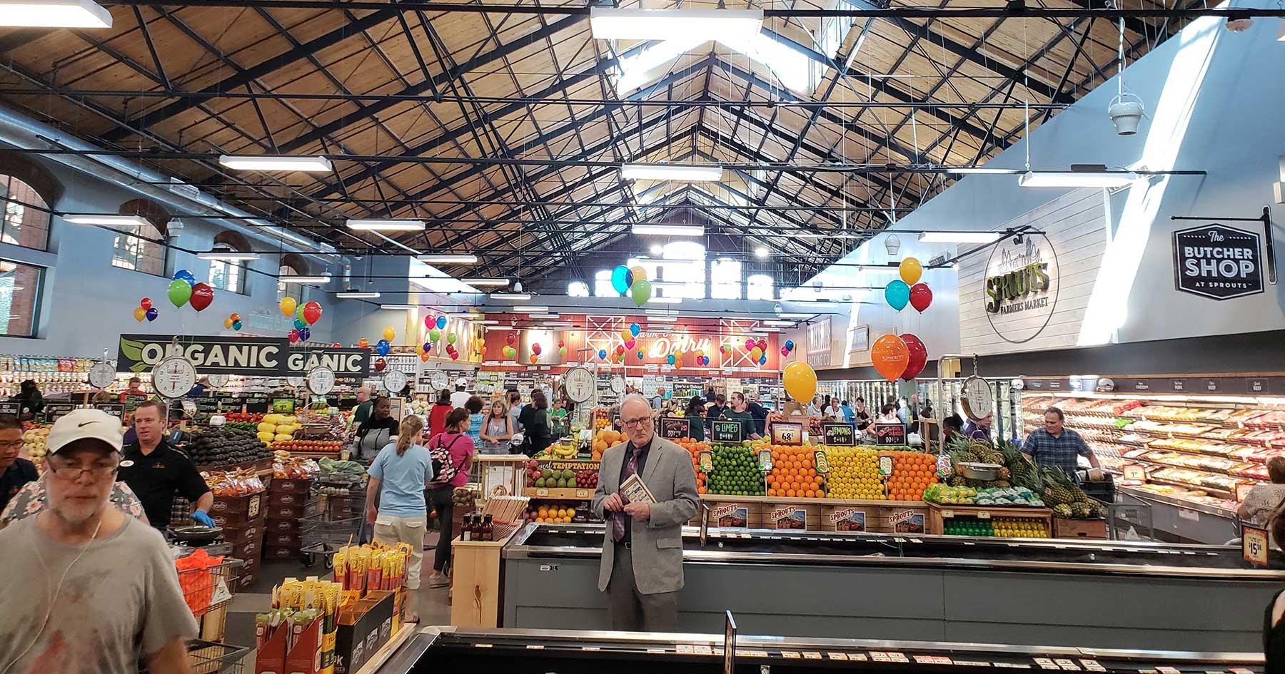 sprouts farmers markets interior