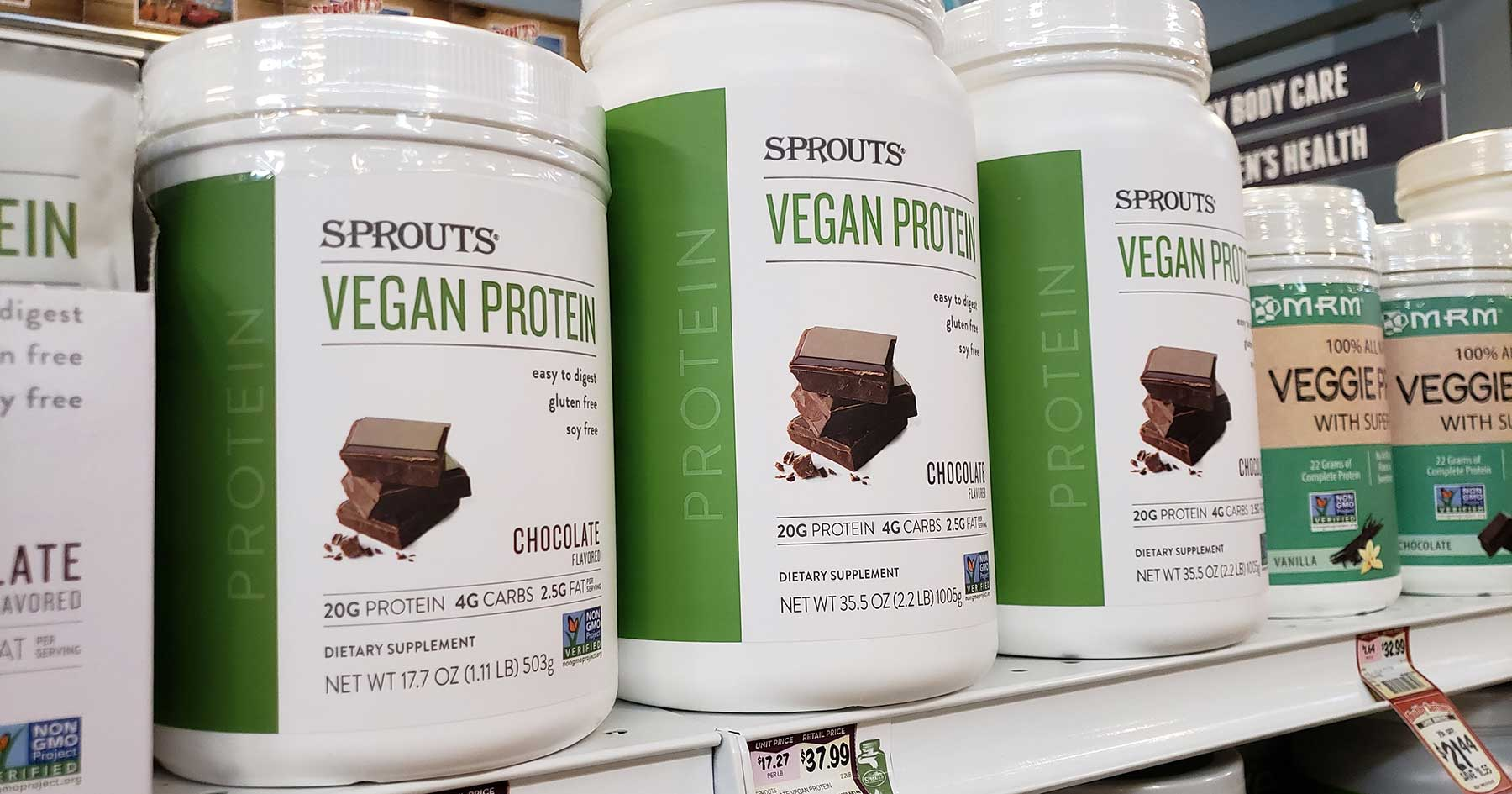 sprouts supplements