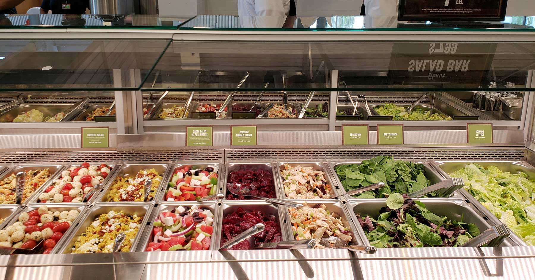 sprouts salad bar