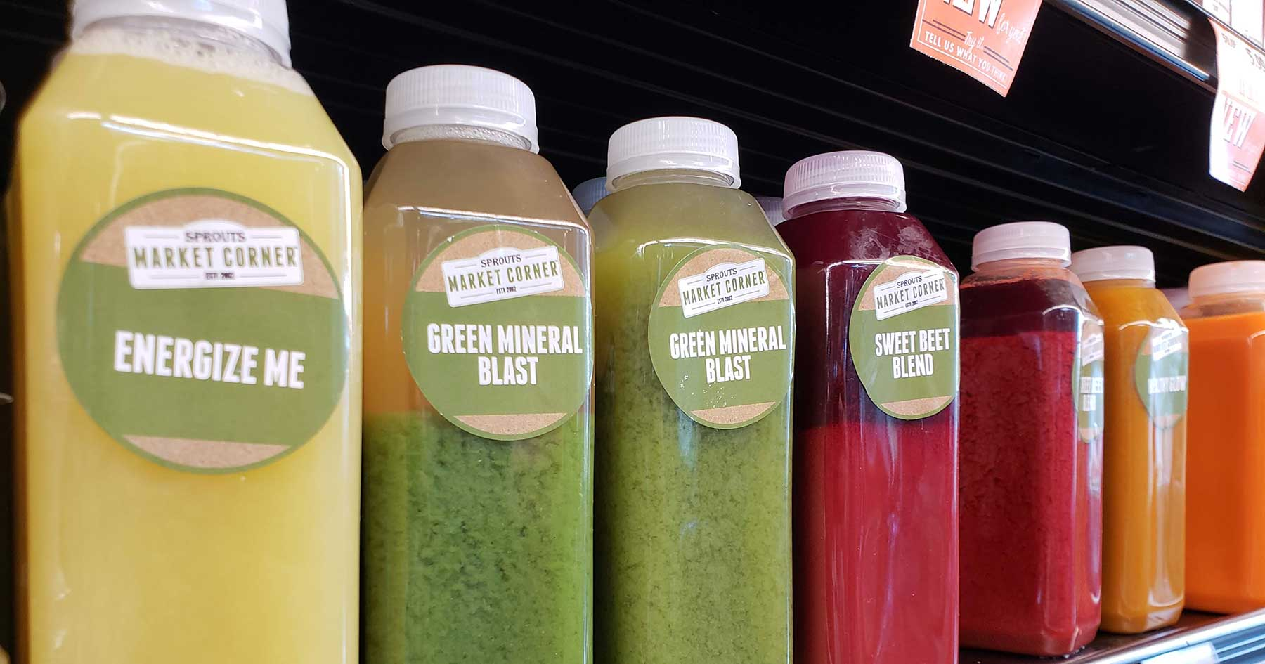 sprouts juices