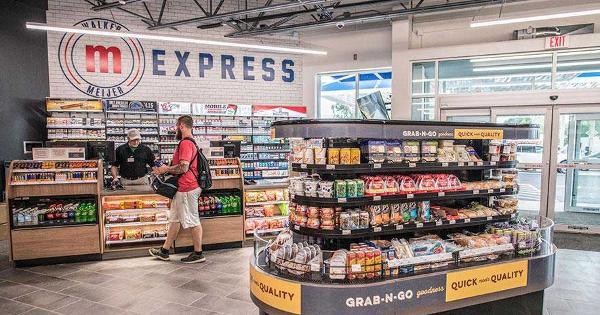 A Look Inside Meijer's New C-Store