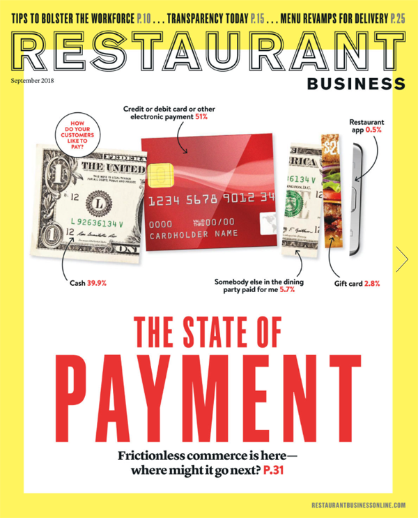 Restaurant Business September 2018 Issue