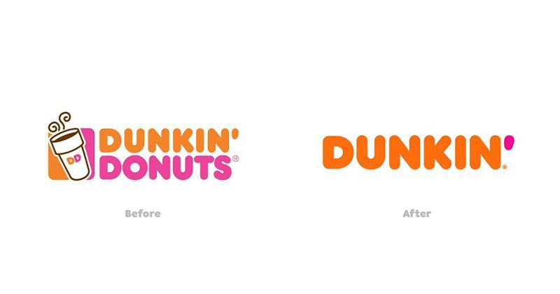 Dunkin' logos