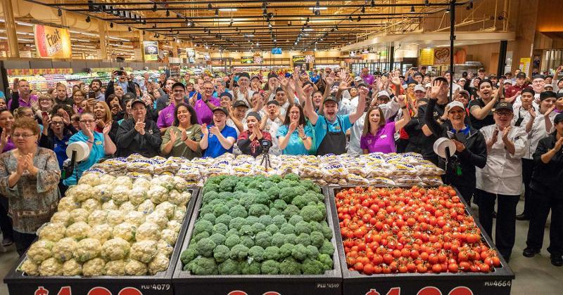 wegmans food markets produce employees