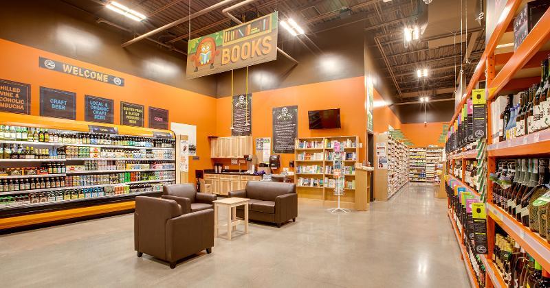 natural grocers interior
