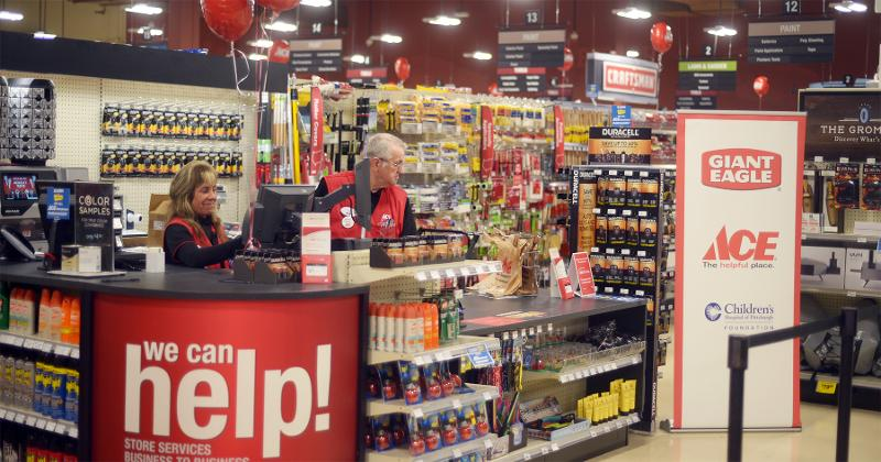 ace hardware interior