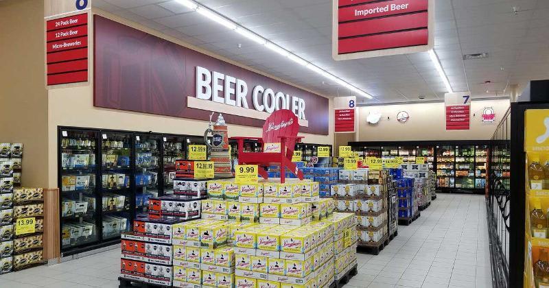 woodmans beer cooler