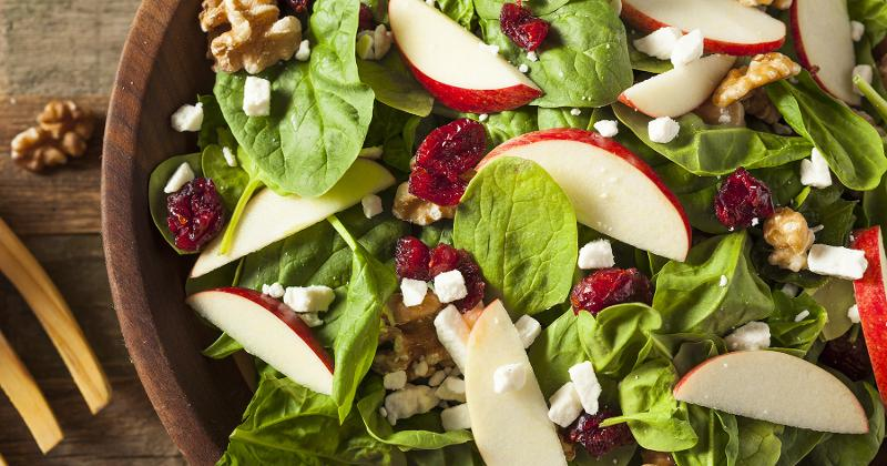 Apple, Walnut and Blue Cheese Salad