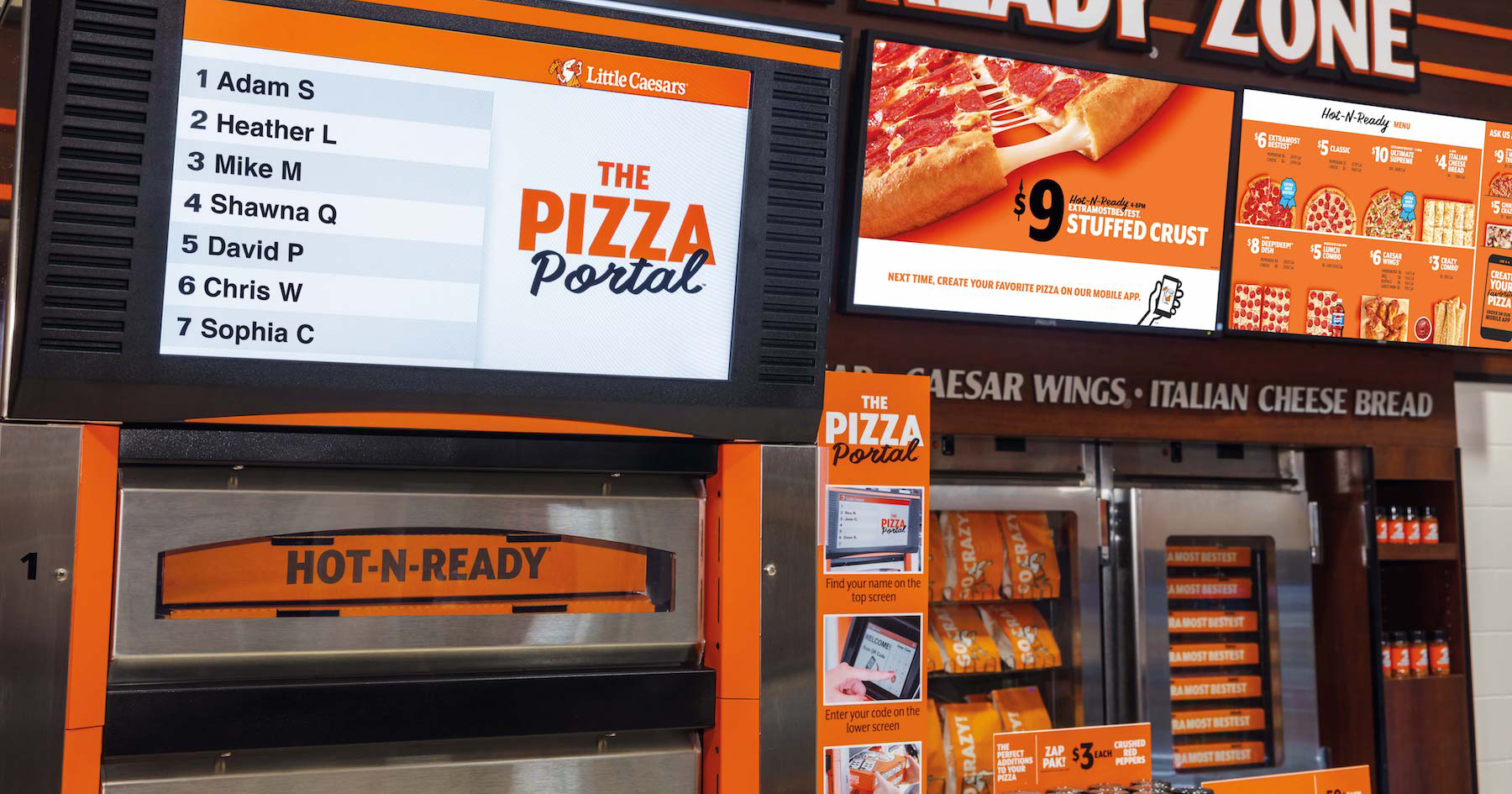 Little Caesars Now Has Heated Pickup Stations