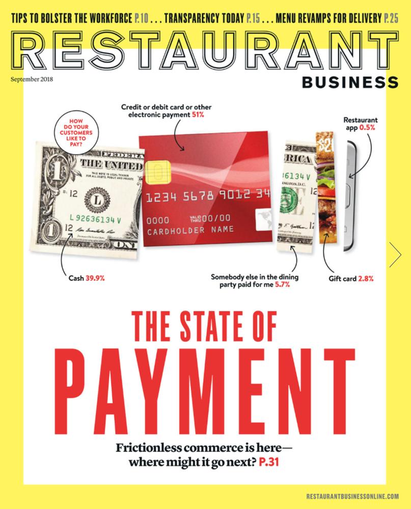 Restaurant Business Magazine September 2018 Issue
