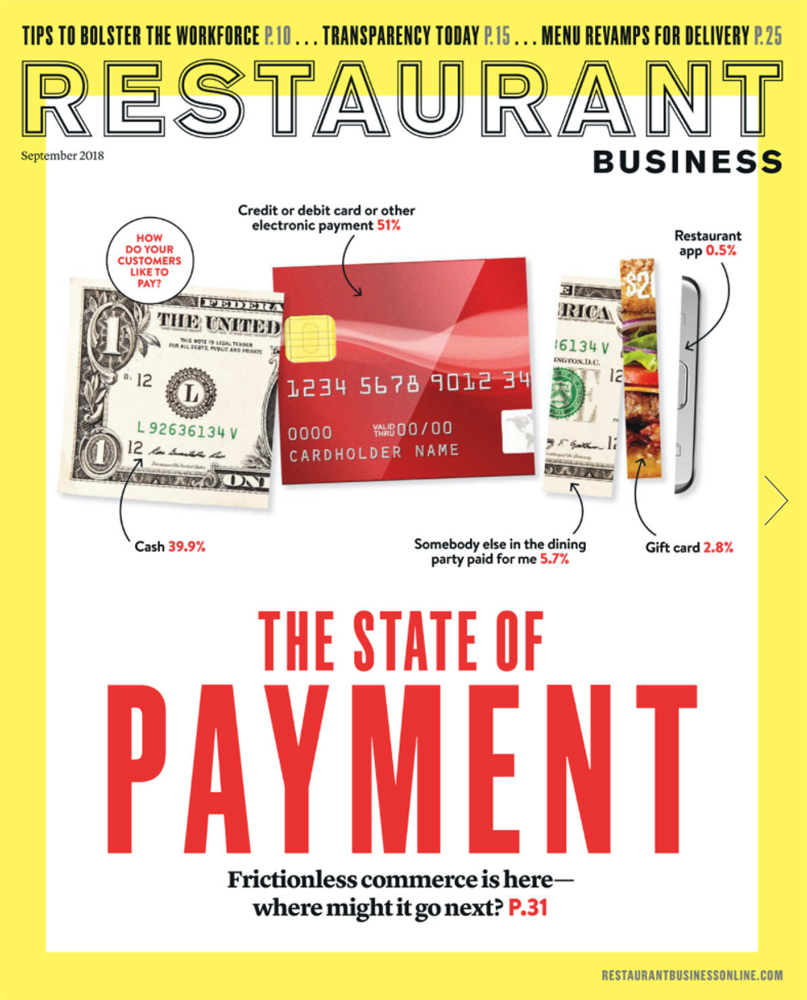 Restaurant Business Magazine September 2018 Issue