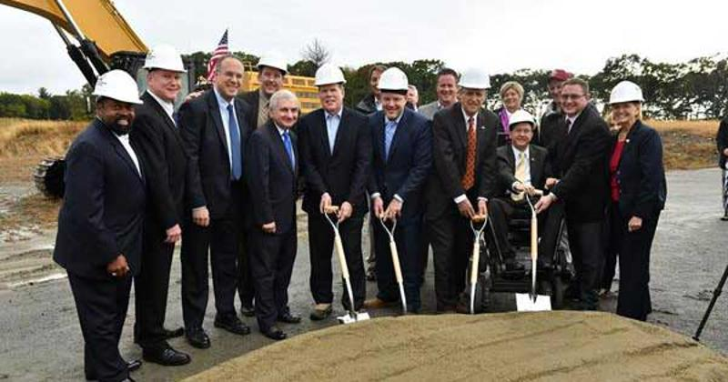 ahold delhaize meat facility ground breaking