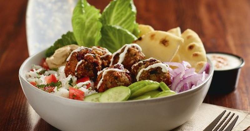 tabbouleh falafel bowl